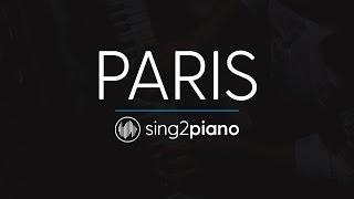 Paris (Piano Karaoke Instrumental) The Chainsmokers