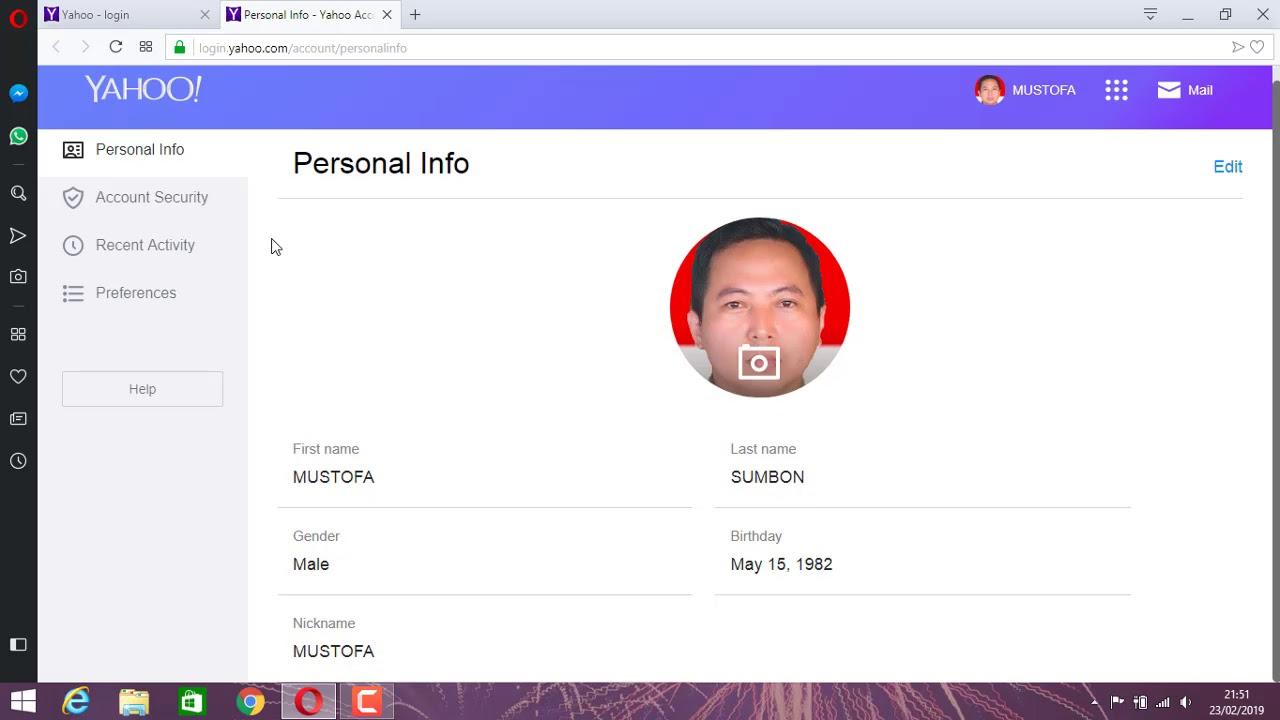 Cara Mengganti Password Yahoo Mail Youtube
