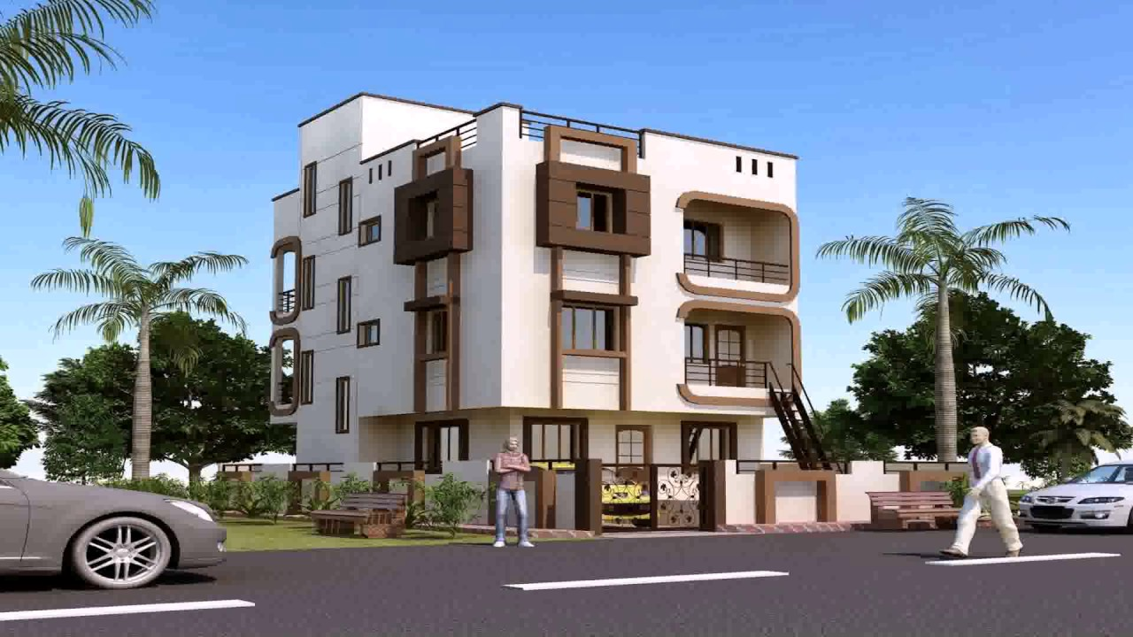 three story house plans in india youtube
