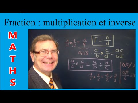 Maths Fraction : Multiplication / Inverse