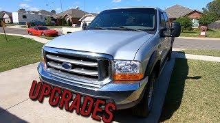 Cheap $4K Copart Ford F250 Super Duty 7.3 Diesel Upgrades