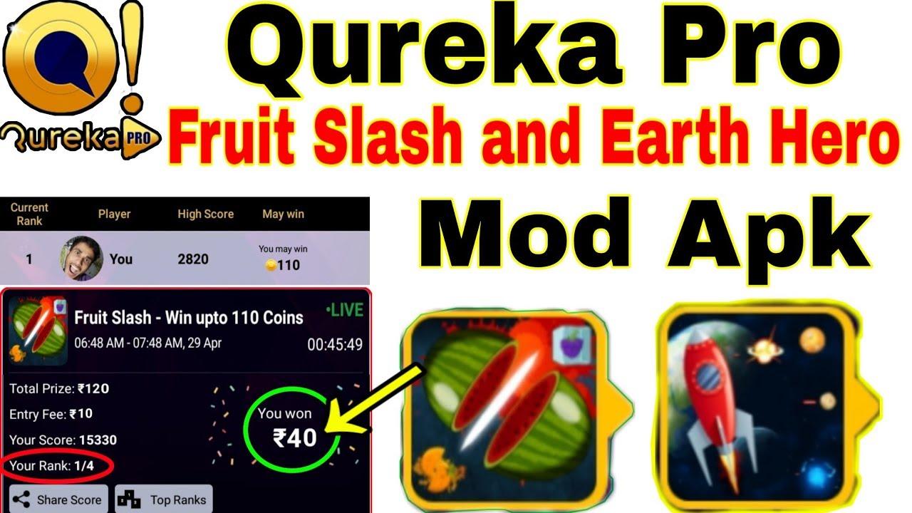 Repeat Qureka Pro Fruit Slash Mod Apk | letest mod apk