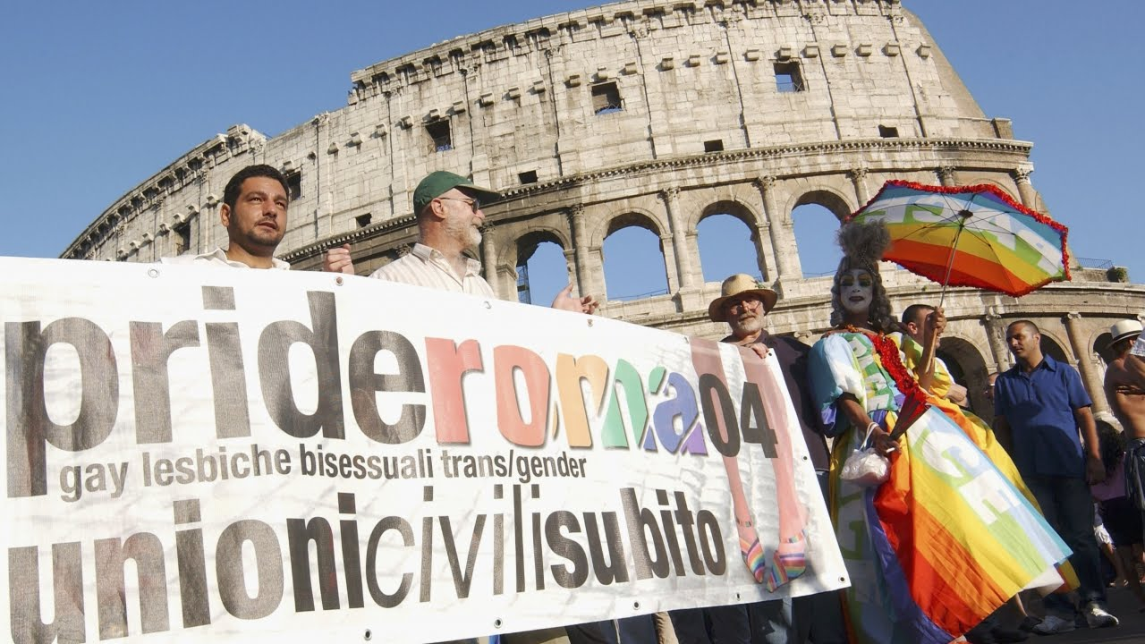 Italy one of the worst countries in western europe for gay rights