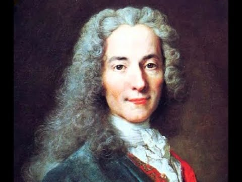 Chatting with Voltaire: Inspiration and Aliens