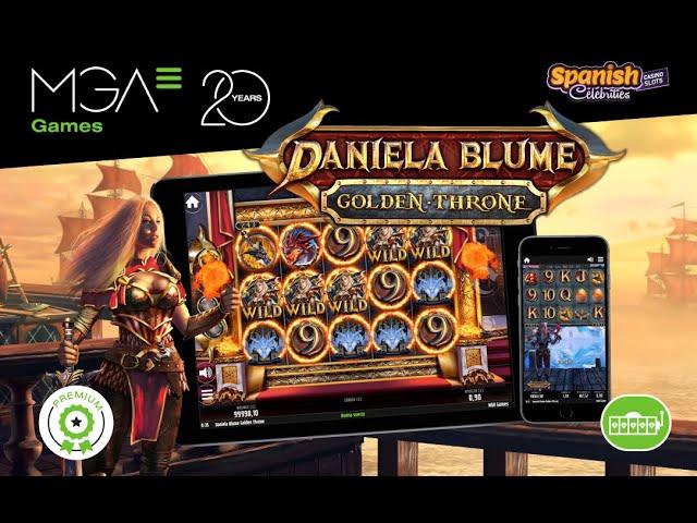 Daniela Blume Golden Throne 2