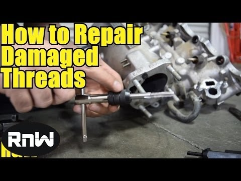 How to Repair Damaged Threads by Using a HeliCoil Thread Insert - Long Lasting Thread Repair