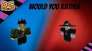 ROBLOX WOULD YOU RATHER (Feat. Joel)