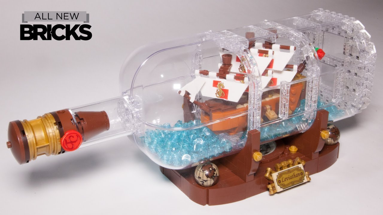 Lego Ideas 21313 Ship In A Bottle Speed Build Youtube 75157 Star Wars Captain Rexamp039s At Te