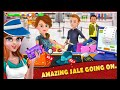 Virtual Shopping Mall Cashier Girl - Cash Register Games by Tenlogix Games Android Gameplay HD