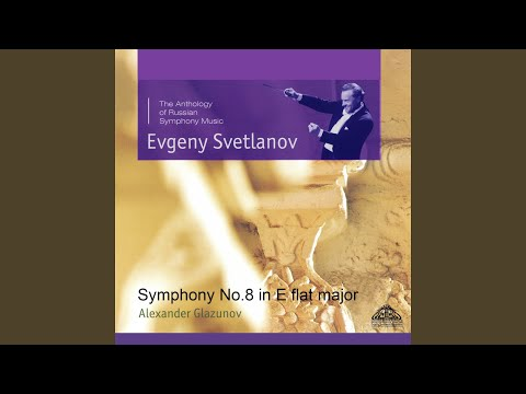 Symphony No. 8 in E-Flat Major, Op. 83: IV. Finale. Moderato sostenuto - Allegro