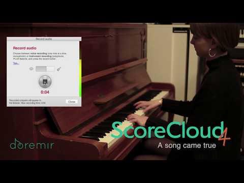 ScoreCloud 4 - The Intelligent Music Notation Software
