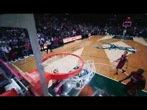 Khris Middleton Drains Three to Beat the Heat - Taco Bell Buzzer-Beaters