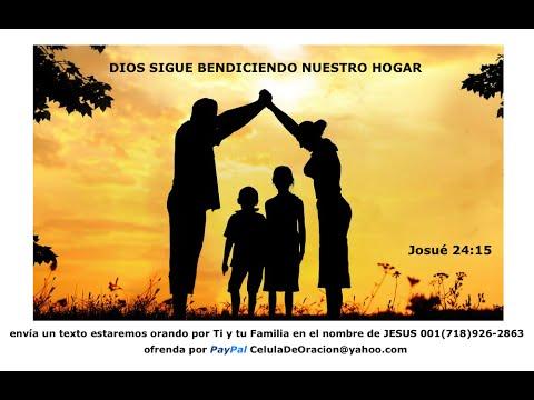Oración Por Las Familias + 10Pm Cadena De Oración YouTube