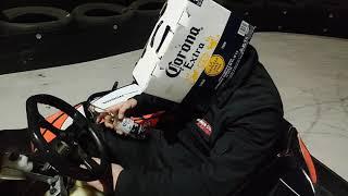 Non-stop karting Corona virus