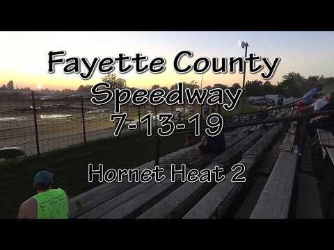 Fayette County Speedway Hornet Heat 2