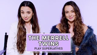 The Merrell Twins Reveal Who's Most Likely to Ask Out a Crush, Ghost, and More