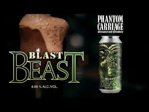 NUCLEAR BLAST - BLAST BEAST Black IPL: The Beer Crafted by Phantom Carriage Brewery