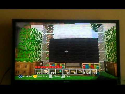 Minecraft tutorials tv and living room tutorial xbox for Minecraft living room ideas xbox