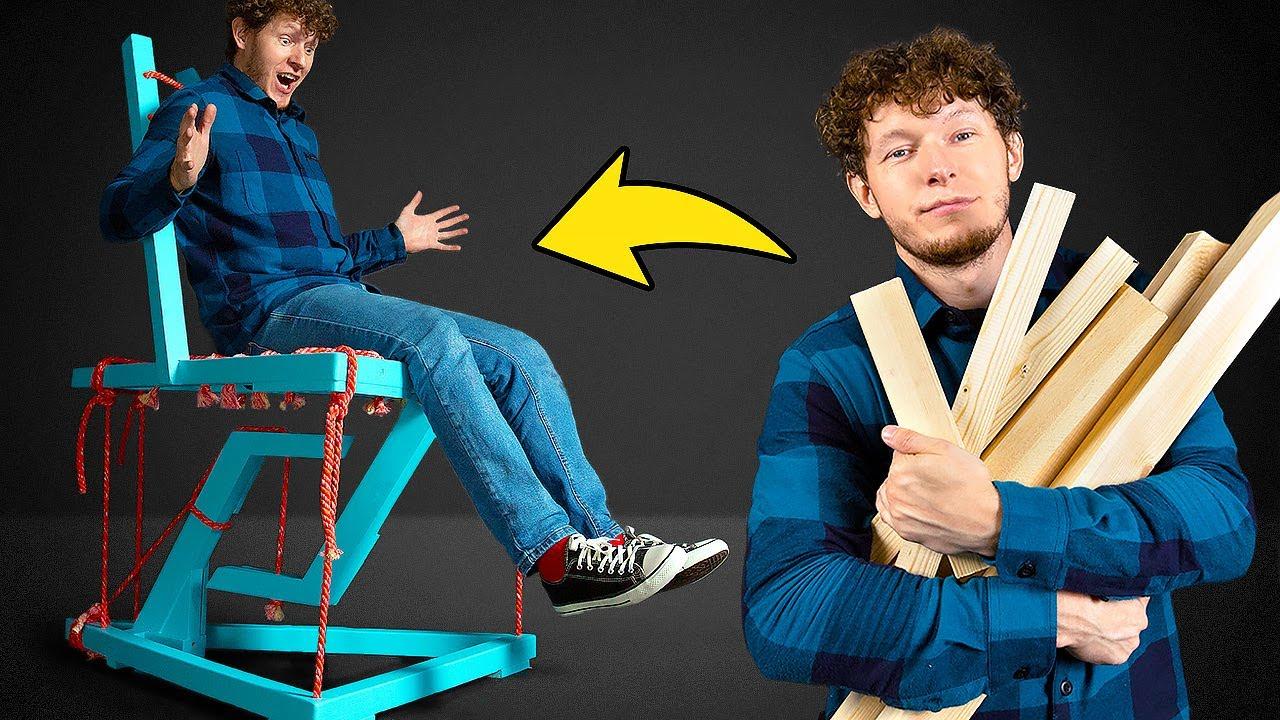Most Unusual Anti Gravity Chair!