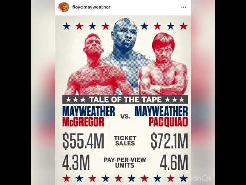 NUMBERS  DONT LIE Floyd Mayweather Reminding Folks What He's Done In Boxing