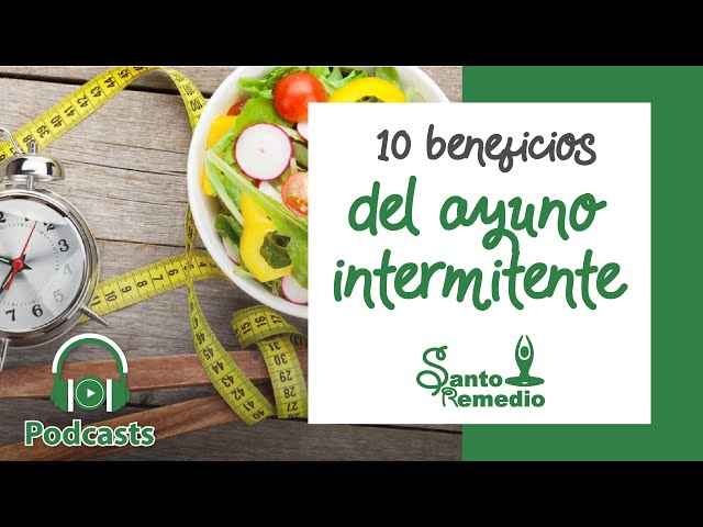 10 Beneficios del ayuno intermitente - Santo Remedio Panamá. Farmacia de Medicina Natural.