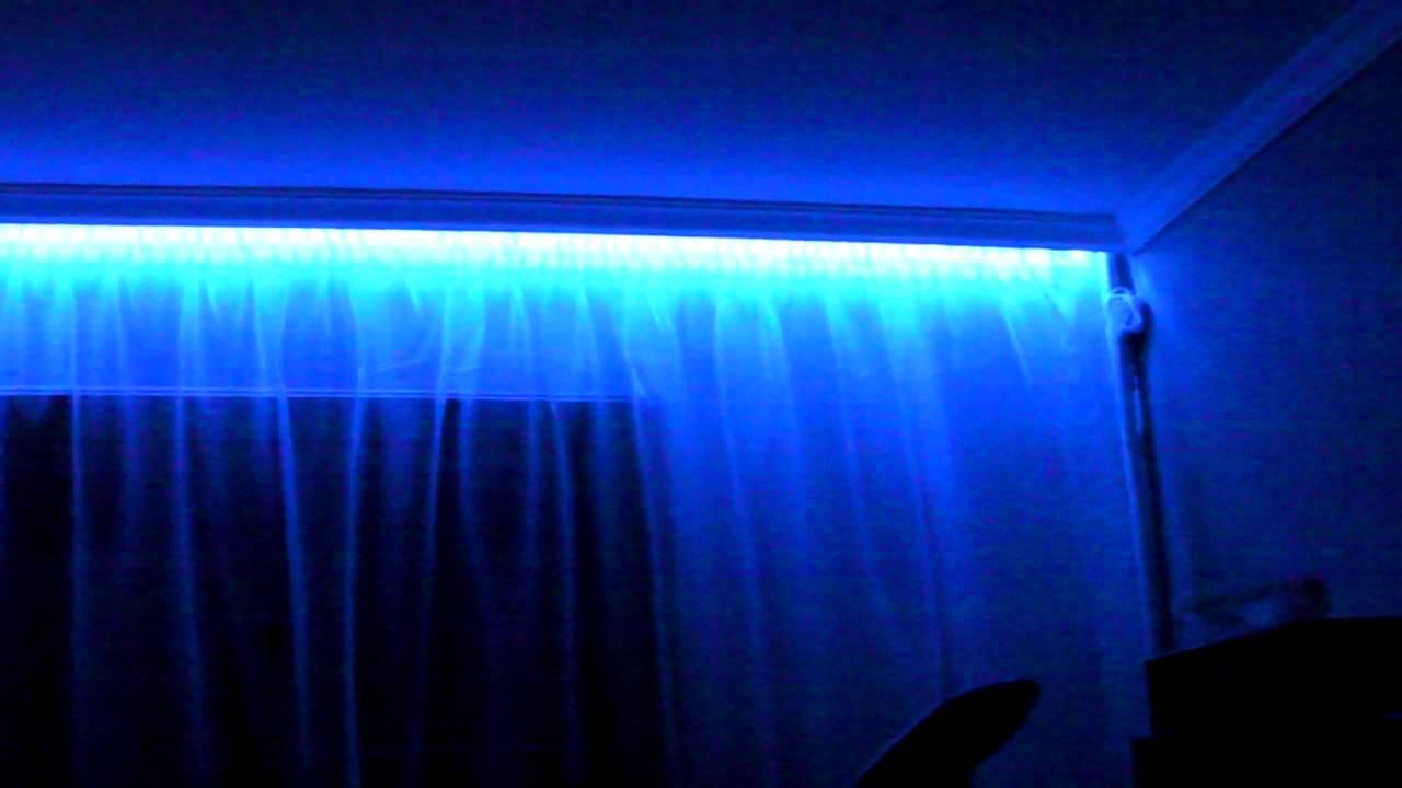 дорогой! Проверка подсветка штор светодиодной лентой согласовывают сглаживают