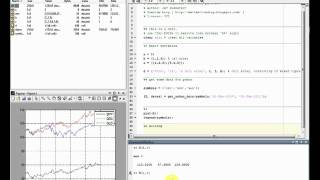 Trading with matlab - 01 Getting started