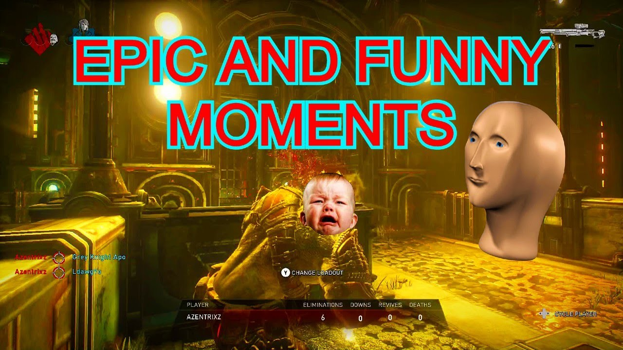FUNNY/FAILS MOMENTS GEARS 5 MLG Ft. Rawr! (EPIC!)
