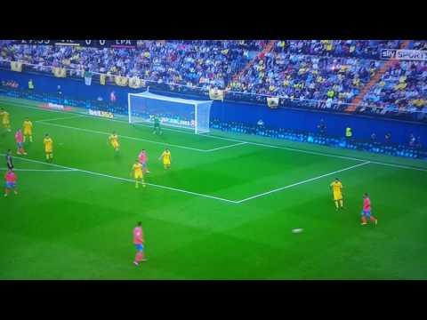 Kevin Prince Boateng Goal. Villarreal 0-1 Las Palmas LA LIGA - 23RD OCTOBER 2016