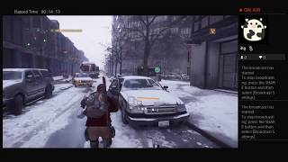 The Division, Part Seventeen, PS4 Live Broadcast, No Commentary, Walkthrough