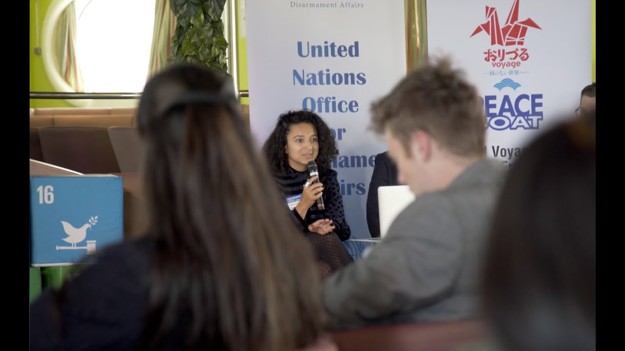 #Youth4Disarmament event engages youth champions in disarmament issues