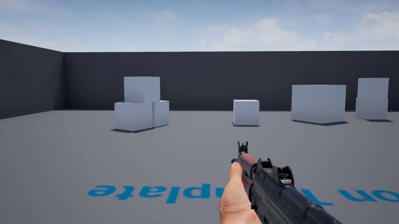 Ironbelly Animated Black Market Guns Demo - Unreal Engine 4