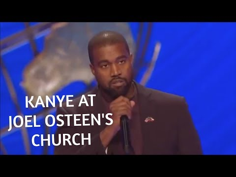 Kanye West Said WHAT at Joel Osteen's Church?!