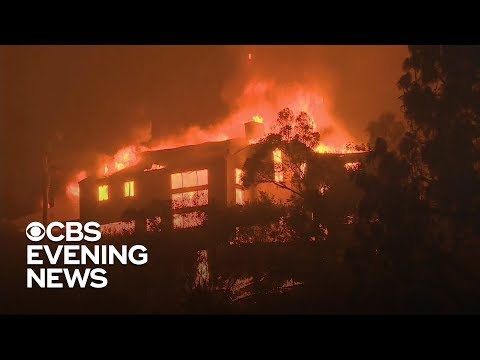 Michael J. - California Fires Burn Million Dollar Homes of Stars