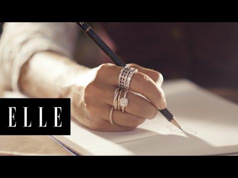 What Inspires Fashion Illustrator Dallas Shaw | ELLE + Pandora