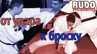 Вариант перехода от удара к броску.  Александр Чичварин