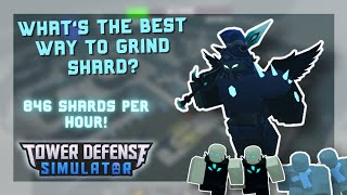 What's The Best wąy to Grind Shard? | Tower Defense Simulator