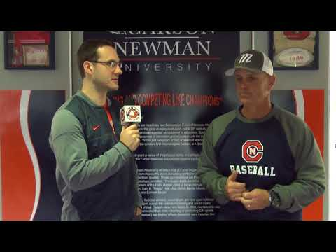Carson-Newman Baseball: Tom Griffin Previews Opening Weekend 2-1-18