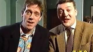 Stephen Fry & Hugh Laurie interview (Big Breakfast, 1995)
