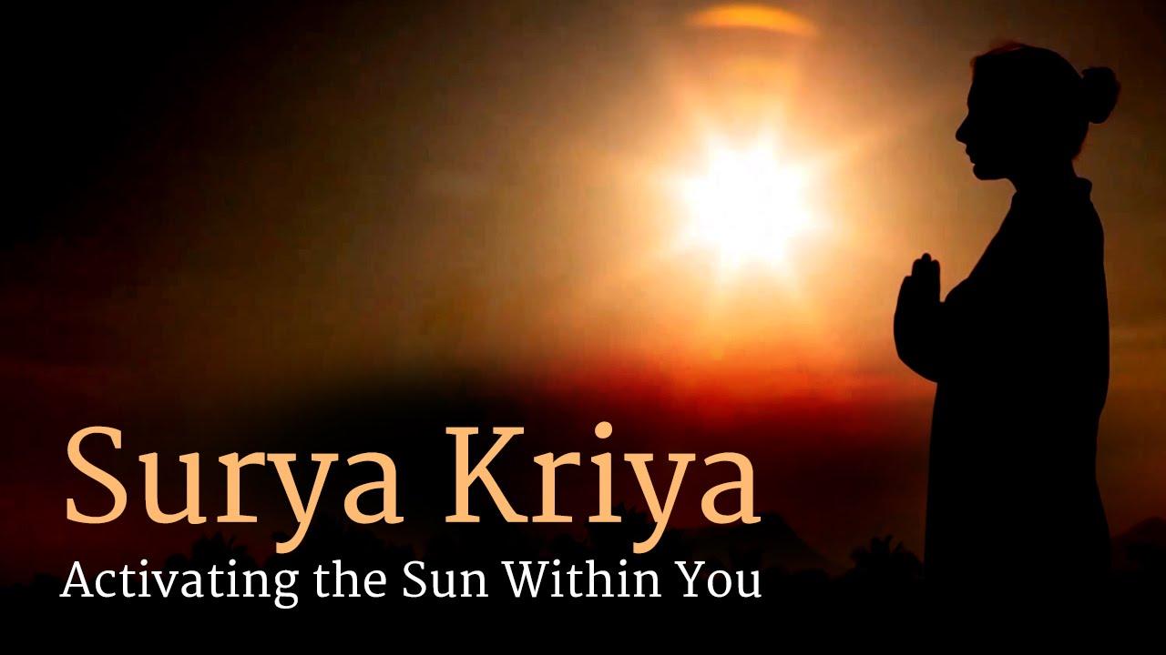 Surya Kriya Activating The Sun Within You Sadhguru Youtube