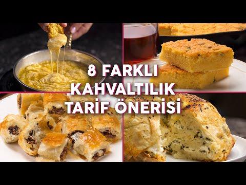 Aynı Kahvaltı Sofrasından Sıkılanlara Sekiz Farklı Kahvaltılık Tarif Önerisi - Kahvaltılık Tarifler