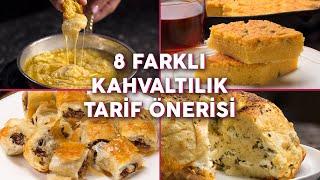 Aynı Kahvaltı Sofrasından Sıkılanlara Sekiz Farklı Kahvaltılık Tarif (Seç Beğen!) | Yemek.com