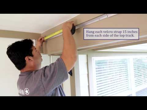 How to Install Rope and Pulley Rigged Patio Enclosures from Southern Patio Enclosures