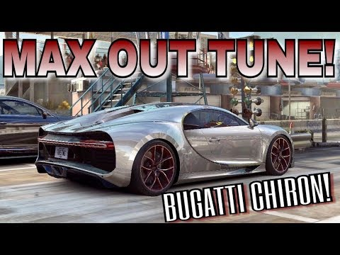 Bugatti Chiron MAX OUT TUNE! | CSR Racing 2