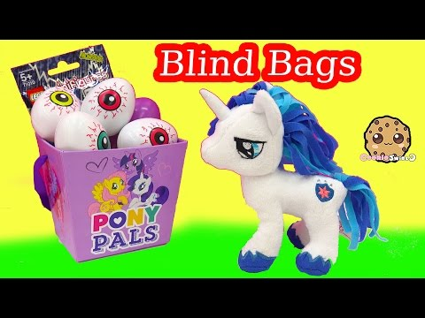 My Little Pony Shining Armor MLP Plush + Mystery Surprise Egg Toy Blind Bags - Cookieswirlc Video