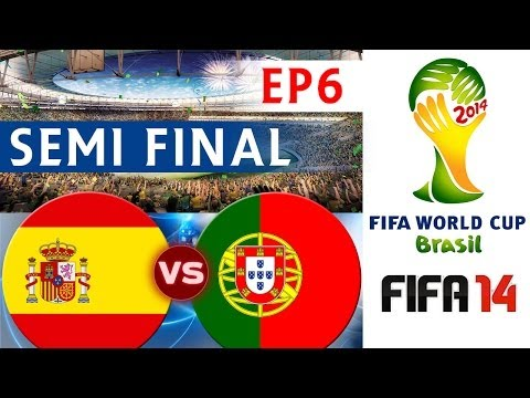 [TTB] 2014 FIFA World Cup Brazil - Spain Vs Portugal - SEMI FINAL - EP6