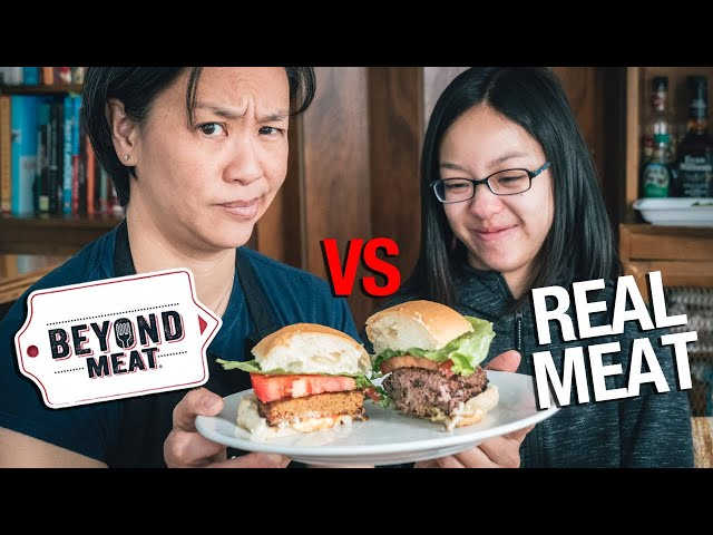 BEYOND MEAT burger vs. REAL burger: Worth It?
