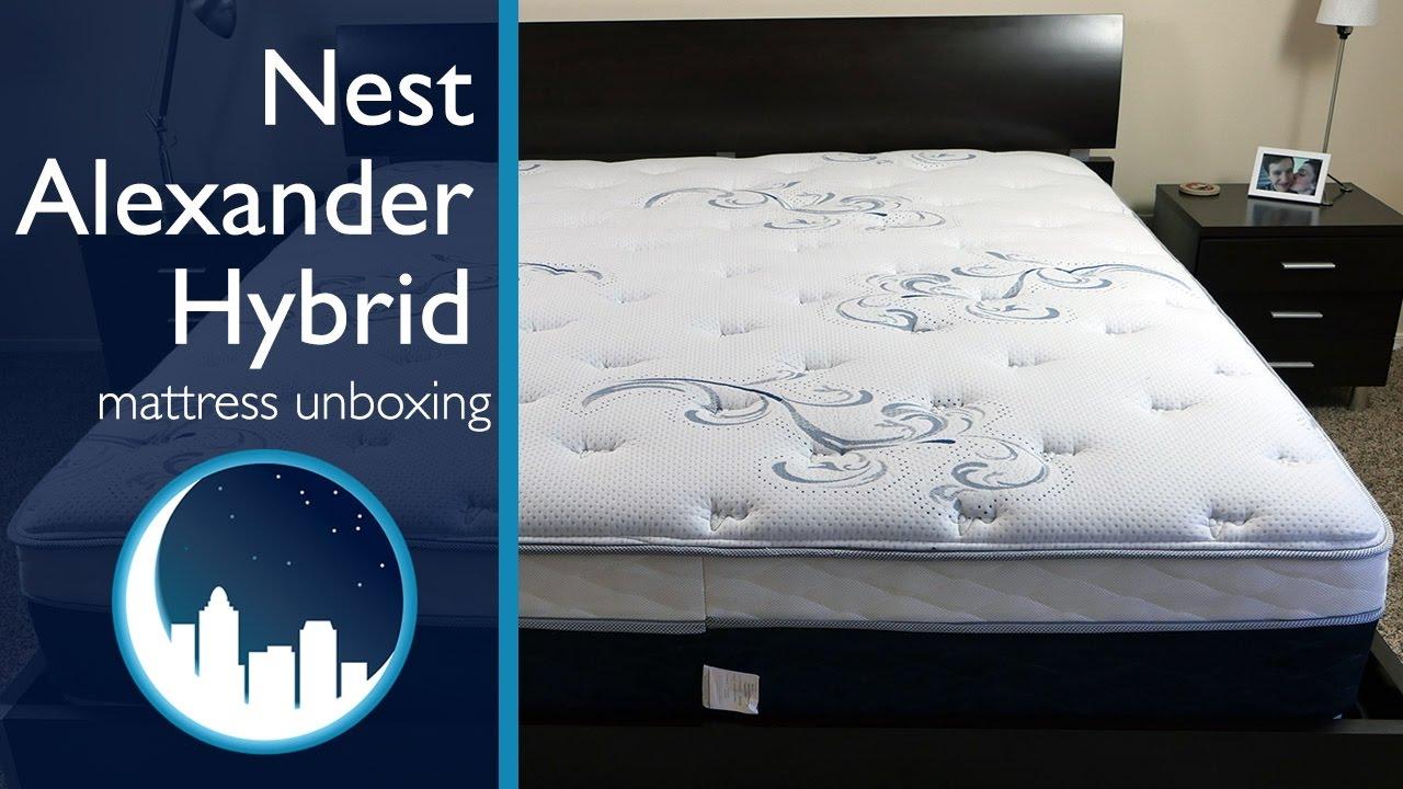 Nest Alexander Hybrid Mattress Unboxing Doovi