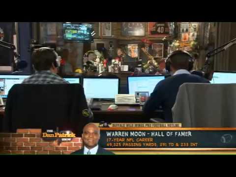 Warren Moon on The Dan Patrick Show 10.24.12