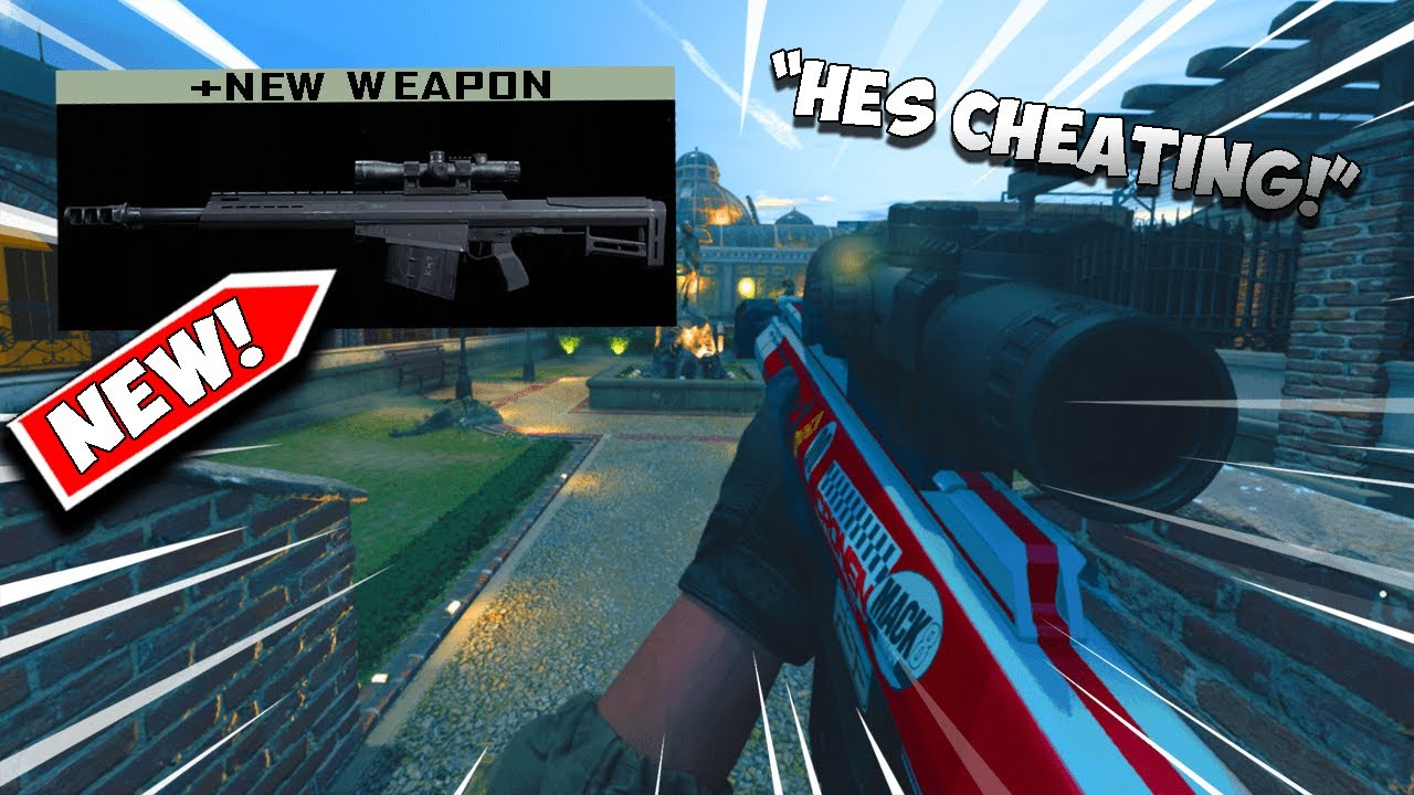 the NEW *RYTEC AMR* SNIPER is CHEATING on Modern Warfare..